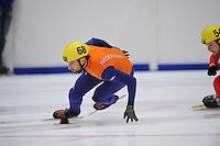 SHORTTRACK: HEERENVEEN: Thialf, Invitation Cup, 01-021011, Niels Kerstholt (68), ©foto: Martin de Jong