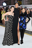 "LONDON, UK. November 20, 2019: Kristen Stewart, Ella Balinska and Naomi Scott arriving for the ""Charlie's Angels"" premiere at the Curzon Mayfair, London.<br /> Picture: Steve Vas/Featureflash"