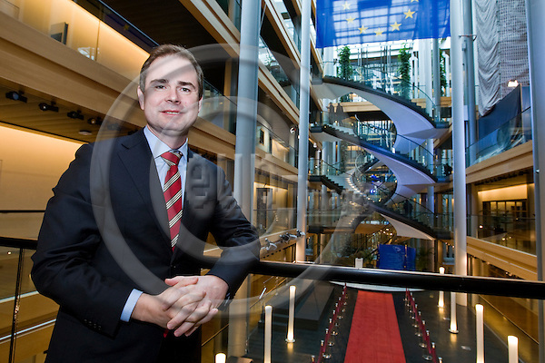 STRASBOURG - FRANCE - 25 OCTOBER 2011 -- Nicolai Wammen, Minister for European Affairs of Denmark at the EU-parliament in Strasbourg. -- PHOTO: Juha ROININEN / EUP-IMAGES