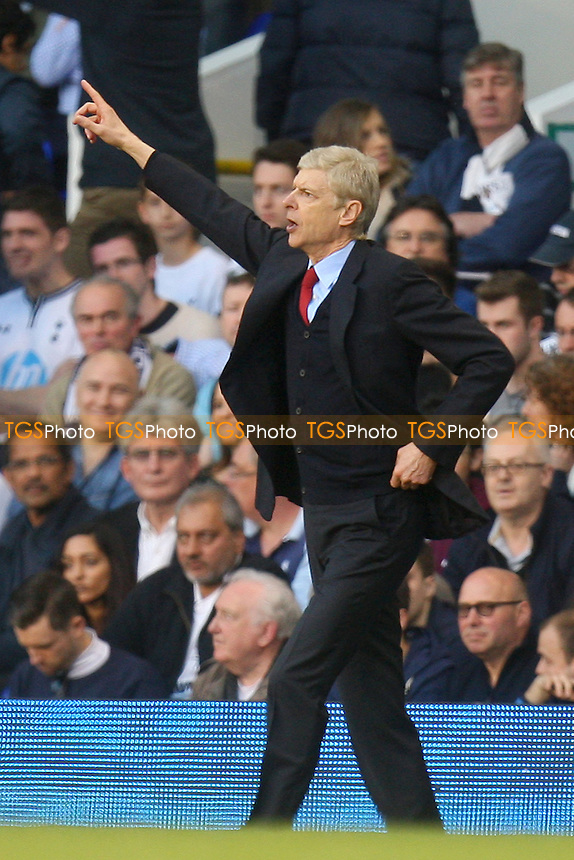 Arsenal manager Arsene Wenger - Tottenham Hotspur vs Arsenal, Barclays Premier League Football at the White Hart Lane Stadium - 16/03/14 - MANDATORY CREDIT: Dave Simpson/TGSPHOTO - Self billing applies where appropriate - 0845 094 6026 - contact@tgsphoto.co.uk - NO UNPAID USE