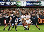 Lucas Tauzin, New Zealand 7 v 16 France, Stade D'Honneur du Parc des Sports et de L'Amitie, Narbonne France. World Rugby U20 Championship 2018. Photo Martin Seras Lima