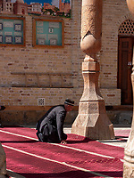 Bolo-Hovuz Moschee, Buchara, Usbekistan, Asien, UNESCO-Weltkulturerbe<br />