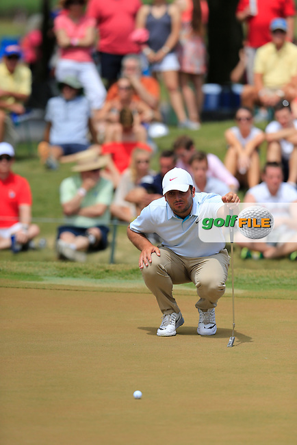 Francesco Molinari (ITA) during the final round of the Players, TPC Sawgrass, Championship Way, Ponte Vedra Beach, FL 32082, USA. 15/05/2016.<br /> Picture: Golffile | Fran Caffrey<br /> <br /> <br /> All photo usage must carry mandatory copyright credit (&copy; Golffile | Fran Caffrey)