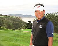 23 JAN 13 Korean KJ Choi during The Farmers Insurance Open at Torrey Pines Golf Course in La Jolla, California. (photo:  kenneth e.dennis / kendennisphoto.com)