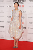 Keira Knightley arriving for the Moet British Independent Film Awards 2014, London. 07/12/2014 Picture by: Alexandra Glen / Featureflash