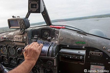 Cockpit of deHavilland beaver