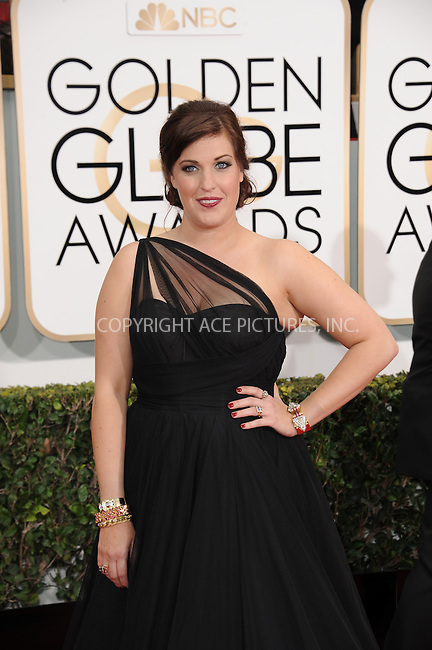 WWW.ACEPIXS.COM<br /> <br /> January 11 2015, LA<br /> <br /> Allison Tolman arriving at the 72nd Annual Golden Globe Awards at The Beverly Hilton Hotel on January 11, 2015 in Beverly Hills, California.<br /> <br /> <br /> By Line: Peter West/ACE Pictures<br /> <br /> <br /> ACE Pictures, Inc.<br /> tel: 646 769 0430<br /> Email: info@acepixs.com<br /> www.acepixs.com