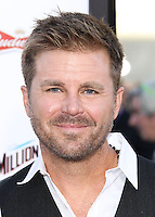 """WESTWOOD, LOS ANGELES, CA, USA - MAY 15: Aaron McPherson at the Los Angeles Premiere Of Universal Pictures And MRC's """"A Million Ways To Die In The West"""" held at the Regency Village Theatre on May 15, 2014 in Westwood, Los Angeles, California, United States. (Photo by Xavier Collin/Celebrity Monitor)"""