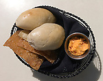 Dinner Rolls, Cheese Spread, Hue Restaurant, Orlando, Florida