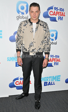 John Newman at the Capital FM Summertime Ball in aid of the Help a London Child charity, Wembley Stadium, Wembley, London, England, UK, on Saturday 11 June 2016.<br /> CAP/CAN<br /> &copy;CAN/Capital Pictures /MediaPunch ***NORTH AND SOUTH AMERIcAS ONLY***