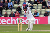 Daniel Lawrence hits 4 runs for Essex during Worcestershire CCC vs Essex CCC, Specsavers County Championship Division 1 Cricket at Blackfinch New Road on 11th May 2018