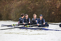 Crew: 115   MCLwt4-   Oxford University (M Lamb)<br /> <br /> BUCS Head 2019 - Sunday<br /> <br /> To purchase this photo, or to see pricing information for Prints and Downloads, click the blue 'Add to Cart' button at the top-right of the page.