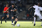 06 September 2008: Clint Dempsey (USA) (8) scores the games only goal past Hebiel Cordoves (18). The United States Men's National Team defeated the Cuba Men's National Team 1-0 at Estadio Nacional de Futbol Pedro Marrero in Havana, Cuba in a CONCACAF semifinal round FIFA 2010 South Africa World Cup Qualifier.