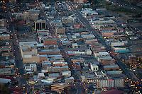 Union Ave. at night. Pueblo, Colorado