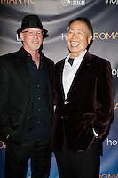 LOS ANGELES - NOV 9: George Takei, Benjamin Pollack at the special screening of Matt Zarley's 'hopefulROMANTIC' at the American Film Institute on November 9, 2014 in Los Angeles, California