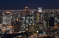 Cityscape of Osaka city in Japan. Osaka is Japan's second largest city..31 Mar 2007