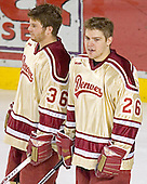 Julian Marcuzzi, Paul Stastny - The Ferris State Bulldogs defeated the University of Denver Pioneers 3-2 in the Denver Cup consolation game on Saturday, December 31, 2005, at Magness Arena in Denver, Colorado.