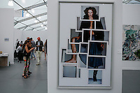 Hight lights from the Annual Contemporany Art fair  Frieze in New York City, United States 05/15/2015. Kena Betancur/VIEWpress