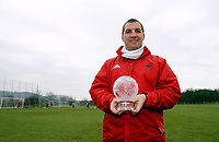 2012 03 16  Brendan Rodgers award  best performance of the week, Swansea, UK.