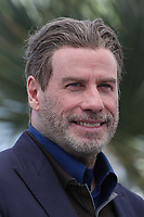 CANNES, FRANCE - MAY 15: John Travolta at photocall for 'Rendezvous With John Travolta - Gotti' during the 71st annual Cannes Film Festival at Palais des Festivals on May 15, 2018 in Cannes, France. <br /> CAP/GOL<br /> &copy;GOL/Capital Pictures