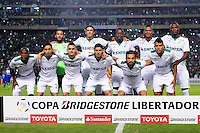 PALMIRA -COLOMBIA-24-02-2016. Jugadores del Cali posan para una foto previo al encuentro entre Deportivo Cali (COL) y Boca Juniors (ARG) por la fecha 1, G3, de la Copa Bridgestone Libertadores 2016 jugado en el estadio Palmaseca de la ciudad de Palmira./ Players of Cali pose to a photo prior the match between Deportivo Cali (COL) and Boca Juniors (ARG) for the date 1, G3, of the Copa Bridgestone Libertadores 2016 played at Palmaseca stadium in Palmira city.  Photo: VizzorImage/ NR /Cont