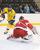Jacob Josefson (Sweden - 26), Filip Novotny (Czech Republic - 1) - Sweden defeated the Czech Republic 4-2 at the Urban Plains Center in Fargo, North Dakota, on Saturday, April 18, 2009, in their final match of the 2009 World Under 18 Championship.