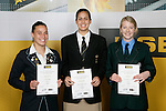 Netball Finalists. ASB College Sport Young Sportsperson of the Year Awards 2006, held at Eden Park on Thursday 16th of November 2006.<br />