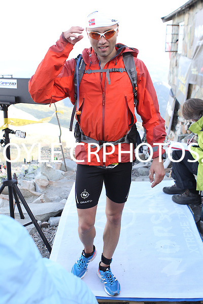Race number 161 - Espen Seger Olsen - Norseman Xtreme Tri 2012 - Norway - photo by chris royle/ boxingheaven@gmail.com