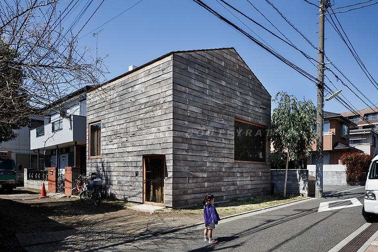 Tokyo, March 2013 - Komazawa house by Go Hasegawa