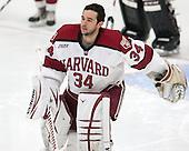 Steve Michalek (Harvard - 34) - The Harvard University Crimson tied the visiting Dartmouth College Big Green 3-3 in both team's first game of the season on Saturday, November 1, 2014, at Bright-Landry Hockey Center in Cambridge, Massachusetts.