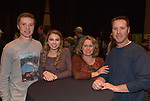 "Kyler Cavin, Aspen Larson, Heather and Paul Cavin attend the screening of Warren Miller's film ""Line of Descent"" at the Reno Ballroom on Saturday, Nov. 4, 2017 in downtown Reno."