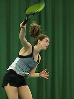 Rotterdam, The Netherlands, March 18, 2016,  TV Victoria, NOJK 14/18 years, Esmee van der Helm (NED)<br /> Photo: Tennisimages/Henk Koster