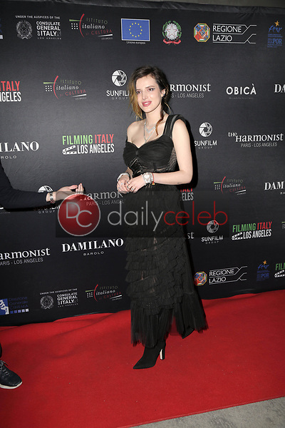 Bella Thorne<br /> at the Filming Italy Awards and Official HFPA Screening of The Anarchist Banker, Harmony Gold, Los Angeles, CA 01-31-19<br /> David Edwards/DailyCeleb.com 818-249-4998