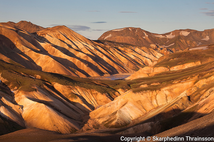Landmannalaugar, central highland of Iceland