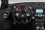 Steering wheel view of a 2017 Nissan 370Z AT Roadster