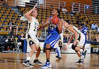 Florida International University forward Finda Mansare (23) plays against Lynn University.  FIU won the game 68-30 on November 30, 2011 at Miami, Florida. .