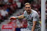 Atletico de Madrid's Jan Oblak during La Liga match between Atletico de Madrid and Getafe CF at Wanda Metropolitano Stadium in Madrid, Spain. August 18, 2019. (ALTERPHOTOS/A. Perez Meca)
