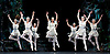 Sylvia<br /> Birmingham Royal Ballet <br /> choreography by David Bentley <br /> at the Birmingham Hippodrome, Birmingham, Great Britain<br /> rehearsal <br /> 23rd June 2015 <br /> <br /> <br /> Celine Gittens as Diana<br /> <br /> <br /> artists of the Birmingham Royal Ballet <br /> <br /> <br /> <br /> Photograph by Elliott Franks <br /> Image licensed to Elliott Franks Photography Services
