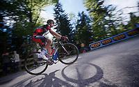 2013 Giro d'Italia.stage 10..Ivan Santaromita (ITA) steep climbing.