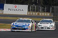 18-20 April, 2008, Autodromo Hermanos Rodriguez, Mexico City, DF..Adrian Fernandez (5) leads teammate Brad Keselowski..©2008 F.Peirce Williams, USA .