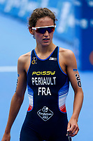 Leonie Periault of France during the 2017 Madrid ITU Triathlon World Cup in Madrid, May 28, 2017. Spain.. (ALTERPHOTOS/Rodrigo Jimenez) /NortePhoto.com