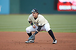Wake Forest Demon Deacons first baseman Bobby Seymour (3) on defense against the Charlotte 49ers at BB&T BallPark on March 13, 2018 in Charlotte, North Carolina.  The 49ers defeated the Demon Deacons 13-1.  (Brian Westerholt/Sports On Film)