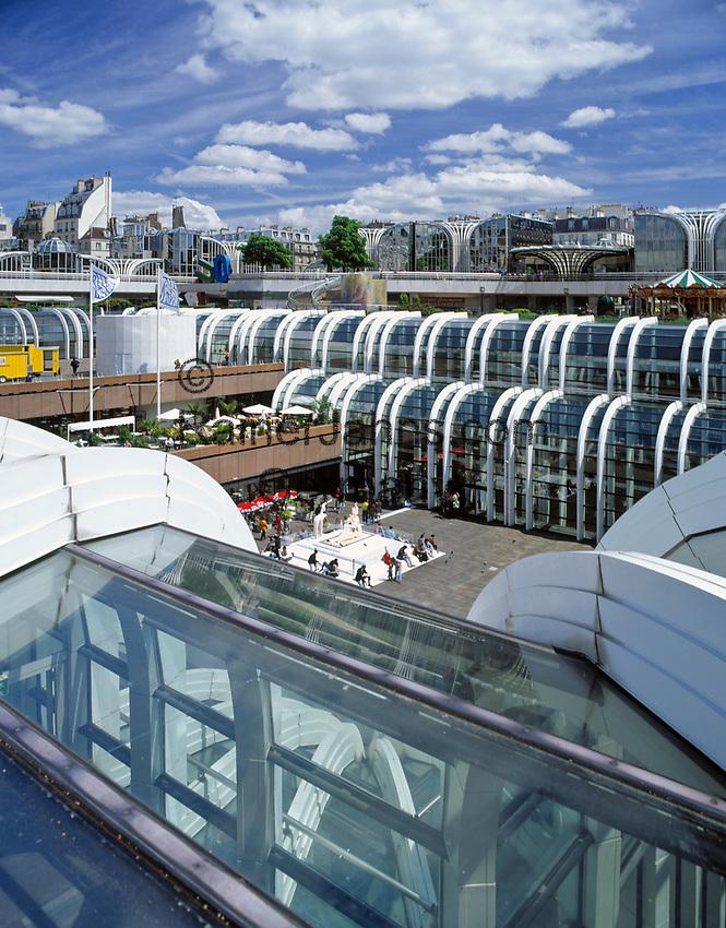 Frankreich, Paris: Forum des Halles, nach dem Abriss der Hallen von Paris der neue Marktplatz | France, Paris: Forum des Halles, marketplace