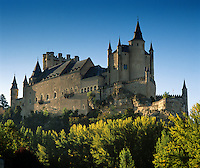 Spain, Castile and Leon, Segovia: The Alcazar of Segovia, former residence of the Kings of Castile | Spanien, Kastilien und Leon, Segovia: Der Alcázar von Segovia