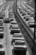 HIGHWAY TRAFFIC JAM NYC
