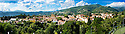 SAGRA DEL &quot;PESCE E PATATE&quot; 2011, BARGA, ITALY<br /> <br /> PANORAMIC VIEW OF THE TOWN OF BARGA.