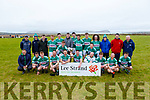Listry  winnersof  the Intermediate Mens Cup after defeating Castlegregory in the  Intermediate mens final  in the Comórtas Peile Páidi Ó Sé 2020 in Gallarus on Sunday.