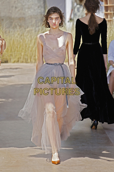 DIOR catwalk fashion show<br /> HAUTE COUTURE Fall/Winter 17/18<br /> at Paris Fashion Week in France on  July 04, 2017.<br /> CAP/GOL<br /> &copy;GOL/Capital Pictures