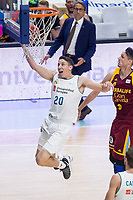Real Madrid Jaycee Carroll during Liga Endesa match between Real Madrid and Herbalife GC at Wizink Center in Madrid, Spain. December 03, 2017. (ALTERPHOTOS/Borja B.Hojas) NortePhoto.con NORTEPHOTOMEXICO