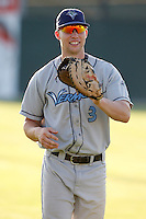 August 13, 2009:  First Baseman Ronnie LaBrie of the Vermont Lake Monsters during a game at Dwyer Stadium in Batavia, NY.  The Lake Monsters are the Short-Season Class-A affiliate of the Washington Nationals.  Photo By Mike Janes/Four Seam Images